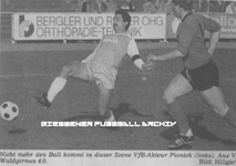 Hier klicken um Bild: VfB 1900 Gießen gegen SC Waldgirmes 1985/86 zu vergr��ern