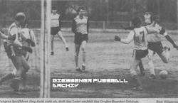 Hier klicken um Bild: TSV 1848 Hungen gegen FC Großen-Buseck 1986/87 zu vergr��ern