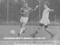 Hier klicken um Bild: TSV Bellersheim gegen VfR Lich II 1990/1991 zu vergr��ern