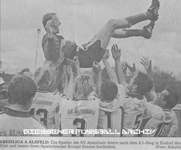 Hier klicken um Bild: Jubel beim SV Atzenhain Meister A-Klasse Alsfeld/Giessen zu vergr��ern