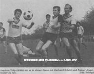 Hier klicken um Bild: TSV Bellersheim gegen FC Großen-Buseck 1985/1986 zu vergr��ern