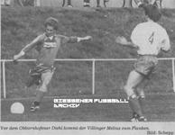 Hier klicken um Bild: SKV Obbornhofen gegen TSV Villingen 1986/87 zu vergr��ern