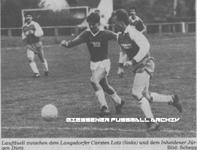 Hier klicken um Bild: SV Inheiden gegen TV Langsdorf 1986/87 zu vergr��ern