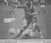 Hier klicken um Bild: SV Langd gegen TSG Nieder-Ohmen 1986/87 zu vergr��ern