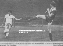 Hier klicken um Bild: Teutonia Laubach gegen SV Wetterfeld 1986/87 zu vergr��ern