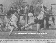 Hier klicken um Bild: FC Großen-Buseck gegen SKG Rodheim-Bieber 1986/87 zu vergr��ern