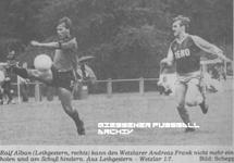 Hier klicken um Bild: TSG Leihgestern gegen Eintracht Wetzlar 1986/87 zu vergr��ern