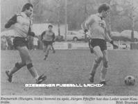 Hier klicken um Bild: TSV Hungen gegen FC Großen-Buseck 1985/86 zu vergr��ern