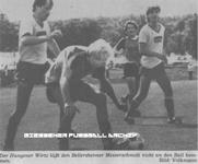 Hier klicken um Bild: TSV Bellersheim gegen TSV 1848 Hungen 1985/86 zu vergr��ern