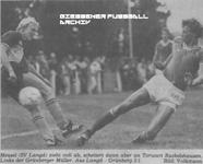 Hier klicken um Bild: SV Langd gegen TSV Grünberg 1985/86 zu vergr��ern