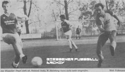 Hier klicken um Bild: TSG Wieseck gegen SC Teutonia Watzenborn-Steinberg 1985/86 zu vergr��ern