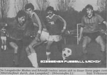 Hier klicken um Bild: TV Langsdorf gegen SKV Obbornhofen 1985/86 zu vergr��ern