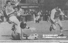 Hier klicken um Bild: TV Langsdorf gegen SV Inheiden 1986/87 zu vergr��ern